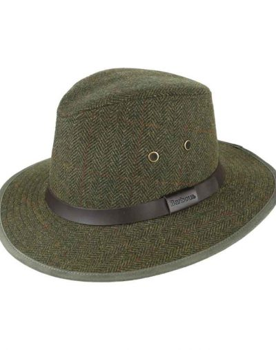 Barbour Country Tweed Bushman Hat