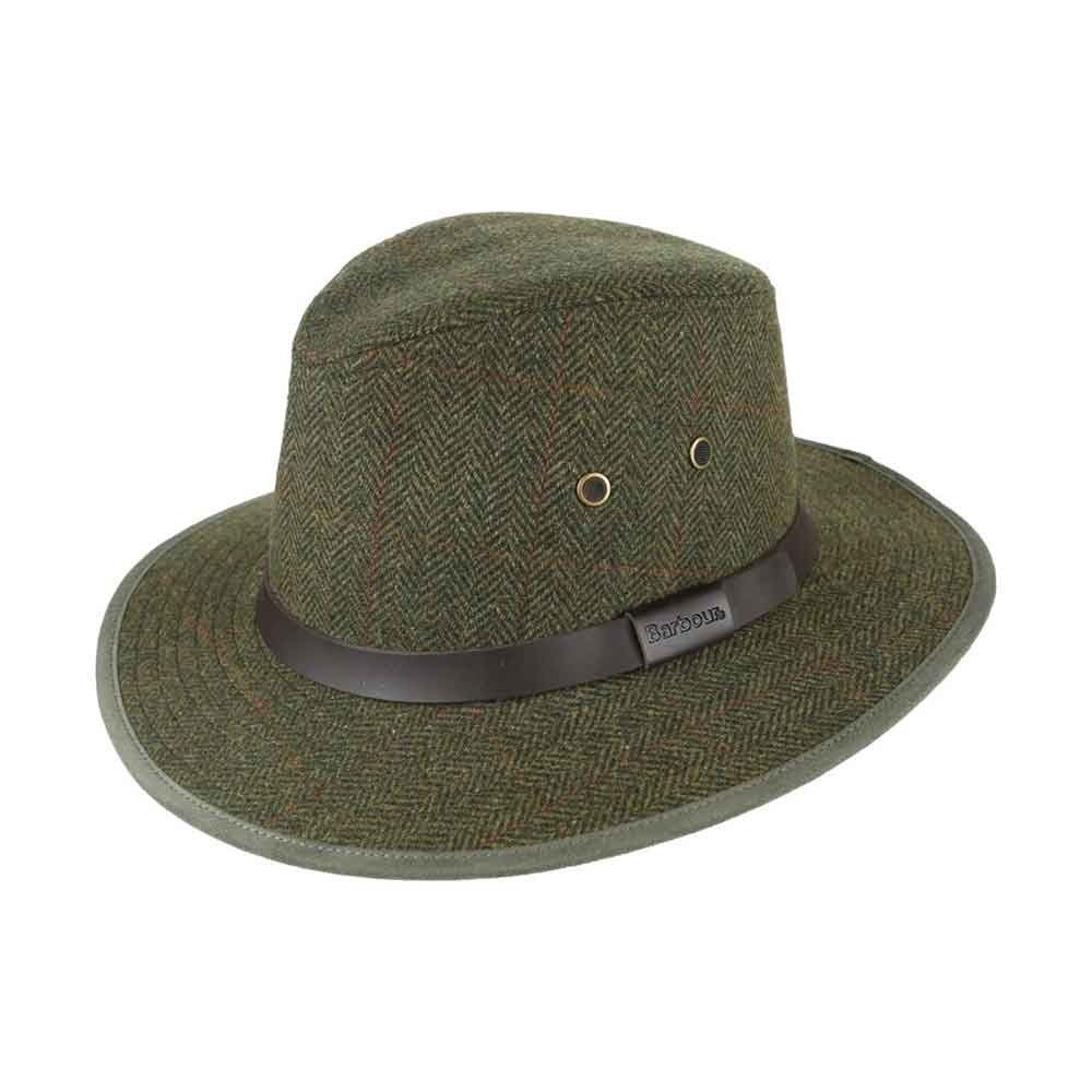Barbour Country Tweed Bushman Hat - Foxholes Country Pursuits a120e69237b