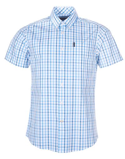 Barbour-Tattersall-Short-Sleeved-Shirt-Blue-web