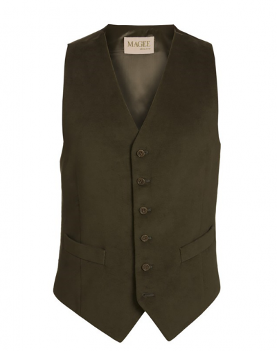 Magee-Moleskin-Waistcoat-Green