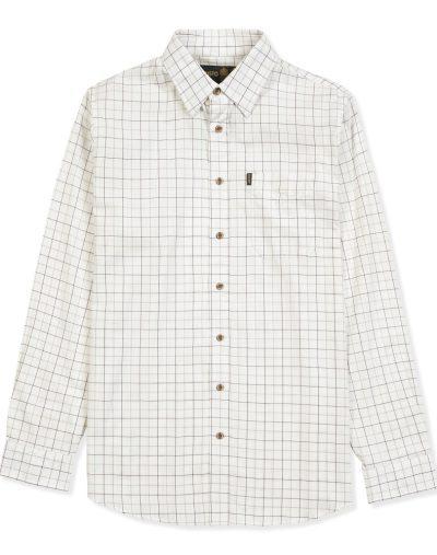Musto Classic Twill Shirt Nairn Damson