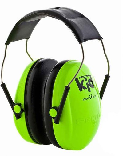Green Peltor Kids Ear Defenders