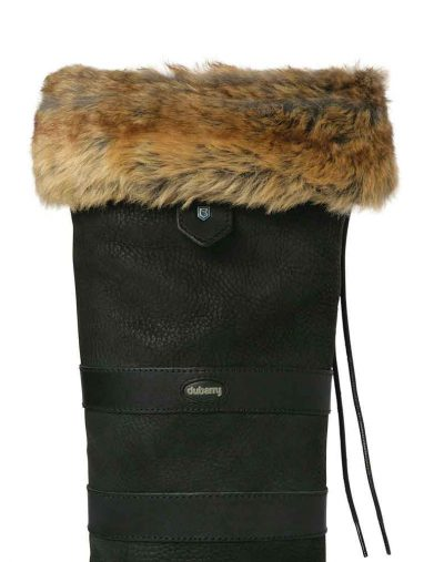 Chinchilla faux fur liners