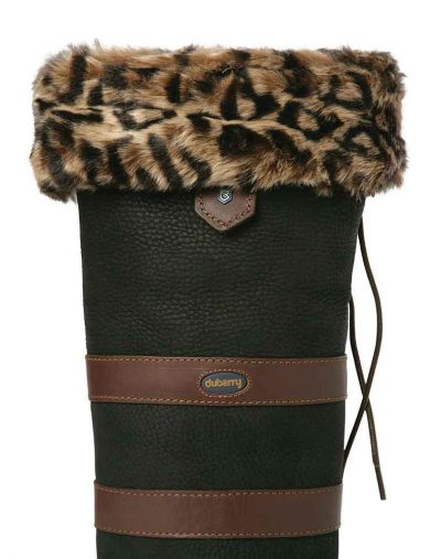 Dubarry faux fur liners leopard