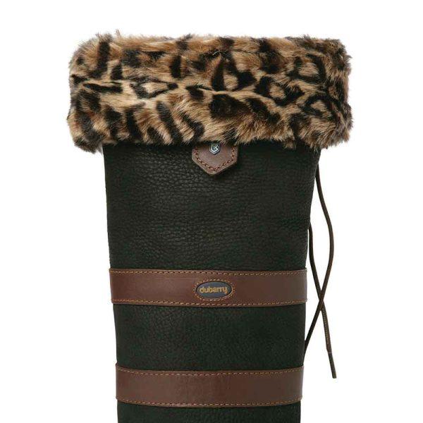Dubarry faux fur liners leopard