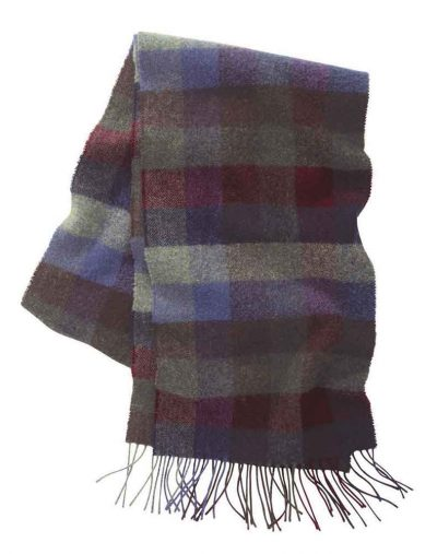 Schoffel Check-Scarf--Multi-colour