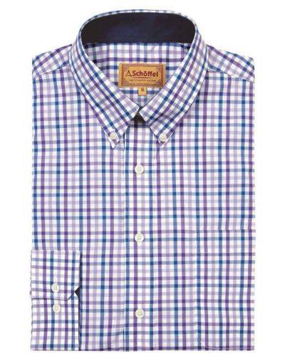 Holkham-Shirt---Plum-