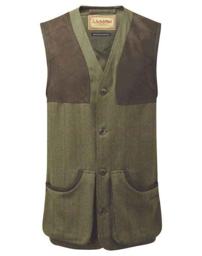 Ptarmigan-Tweed-Waistcoat---Sandringham-Tweed