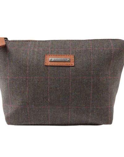 Schoffel Tweed Cosmetic Bag