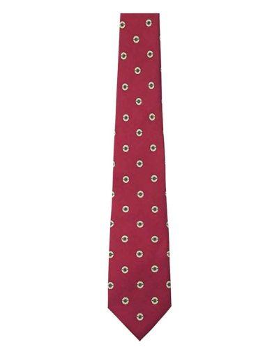 Silk-Tie---Red