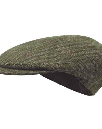 Tweed-Cap---Sandringham-Tweed