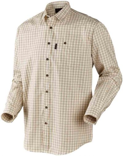 Harkila Lancaster Shirt Red check