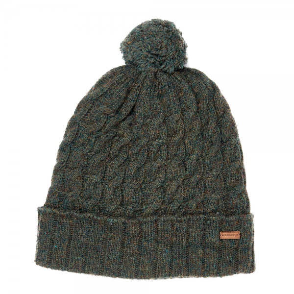 Dubarry Athboy Knitted Hat Olive