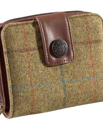 Alan Paine Combrook Purse Gorse Tweed