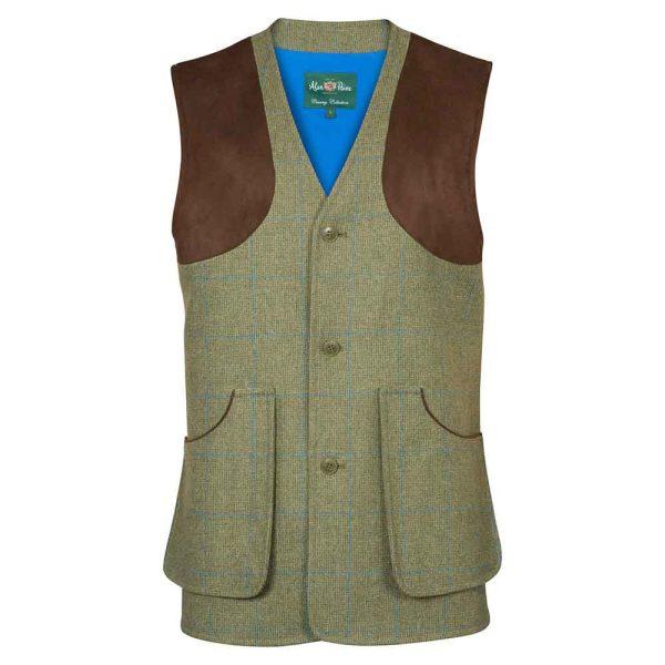 Alan Paine Tweed Waistcoat Compton