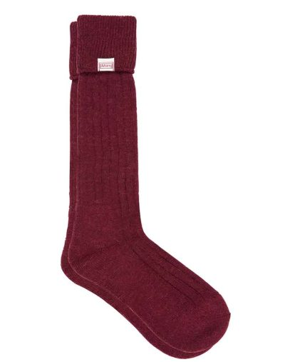 Dubarry Alpaca Socks Merlot