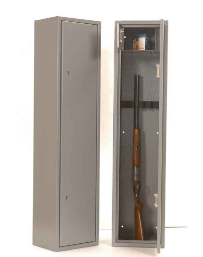 8 gun cabinet with locking top