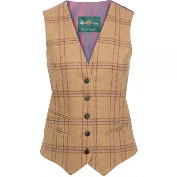 Alan Paine Richmond ladies tweed waistcoat