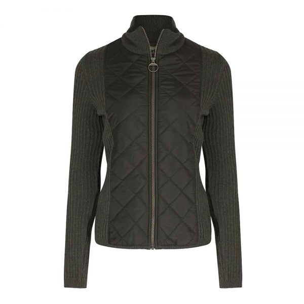 Barbour Sporting Zip Knit