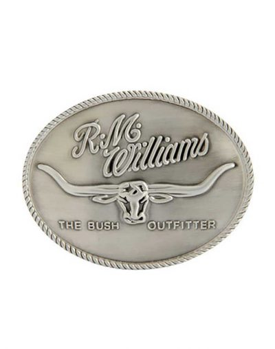 R M Williams Logo Buckle