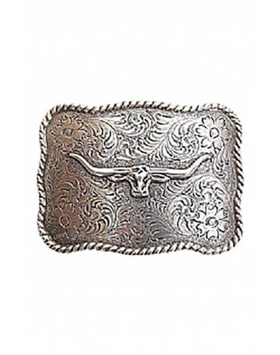 R M Williams Logo Buckle Horns