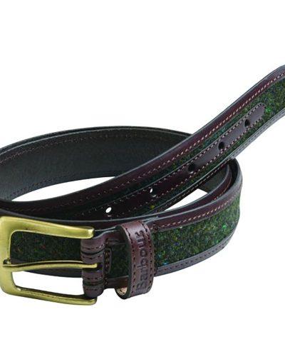 Barbour Donegal tweed mens belt