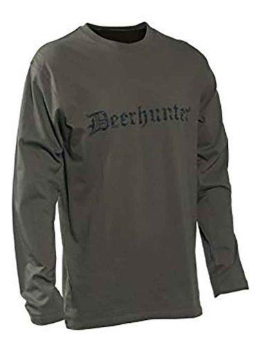 Deerhunter Long Sleeved Logo T shirt