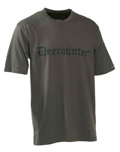Deerhunter logo t shirt