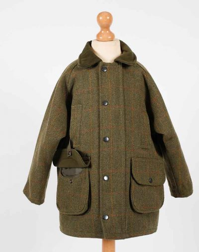 Fox Bay Kids Green Tweed Jacket