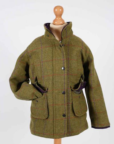 Fox Bay Kids Purple Tweed Jacket