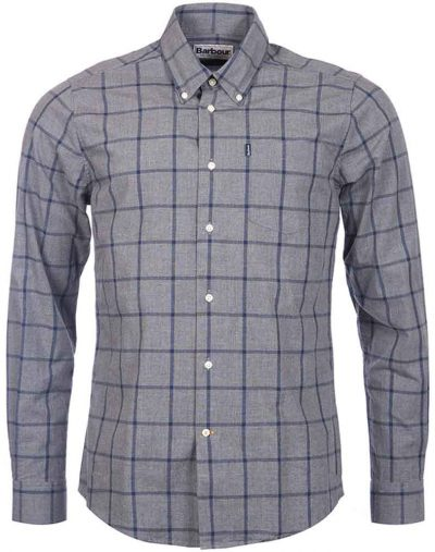 Barbour Baxter Shirt Grey
