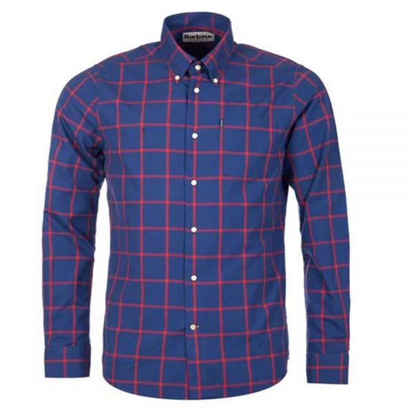 Barbour Baxter Shirt Navy