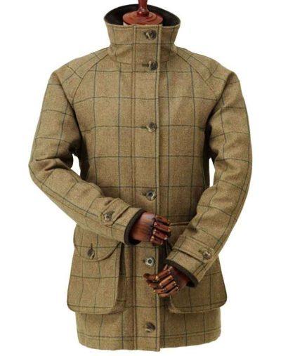 Laksen Eden Tweed Coat