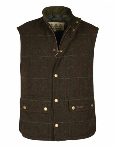 Barbour Lowerdale Wool Tweed Gilet