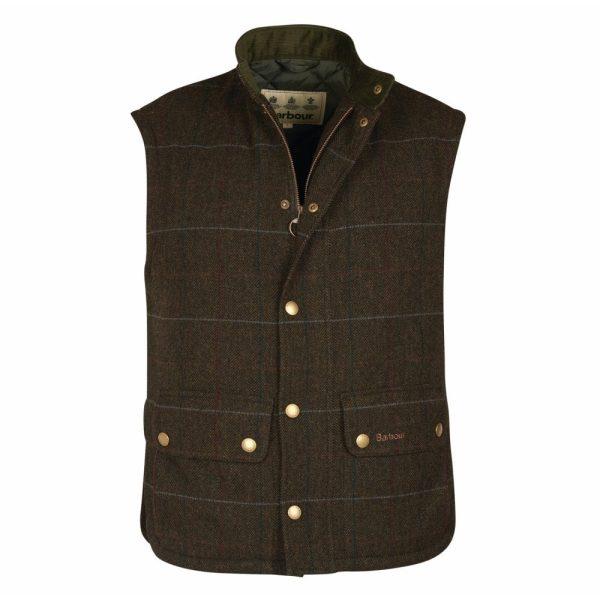 Barbour Lowerdale Wool Tweed Gilet