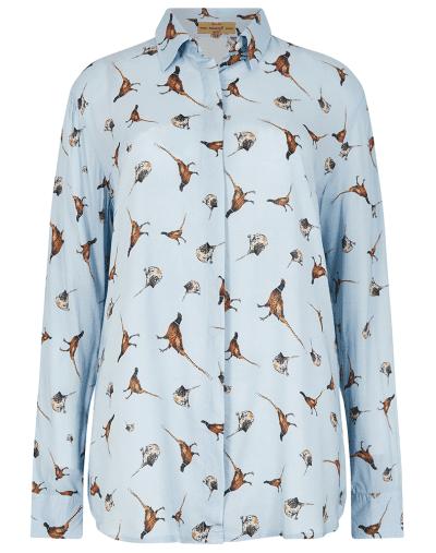 Dubarry Briarrose blue shirt