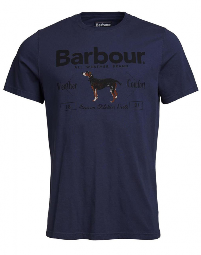 Barbour Country Tee Navy