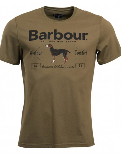Barbour Country Tee Olive