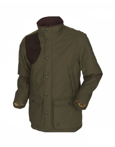 Harkila westfield quilted jacket willow green