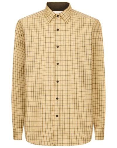 Le-Chameau-Burford-shirt-brown-check