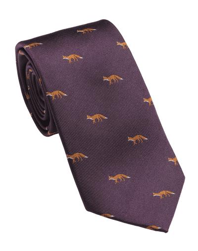 Laksen-Fox-Tie-Purple-web