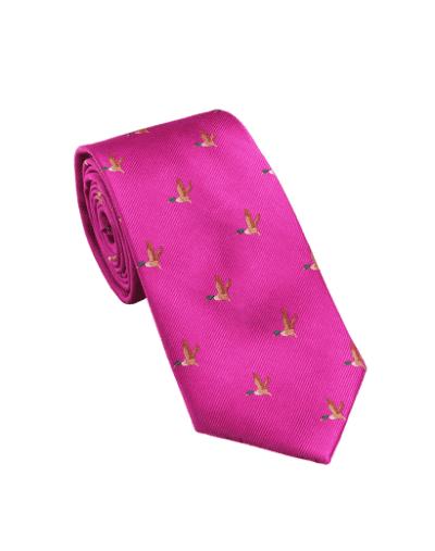 Laksen New Duck Tie Pink