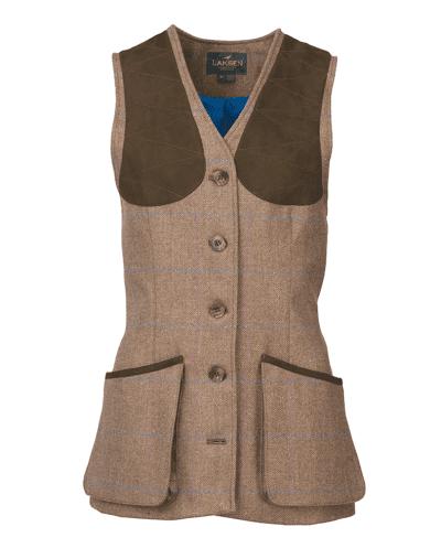Tweed shooting waistcoats